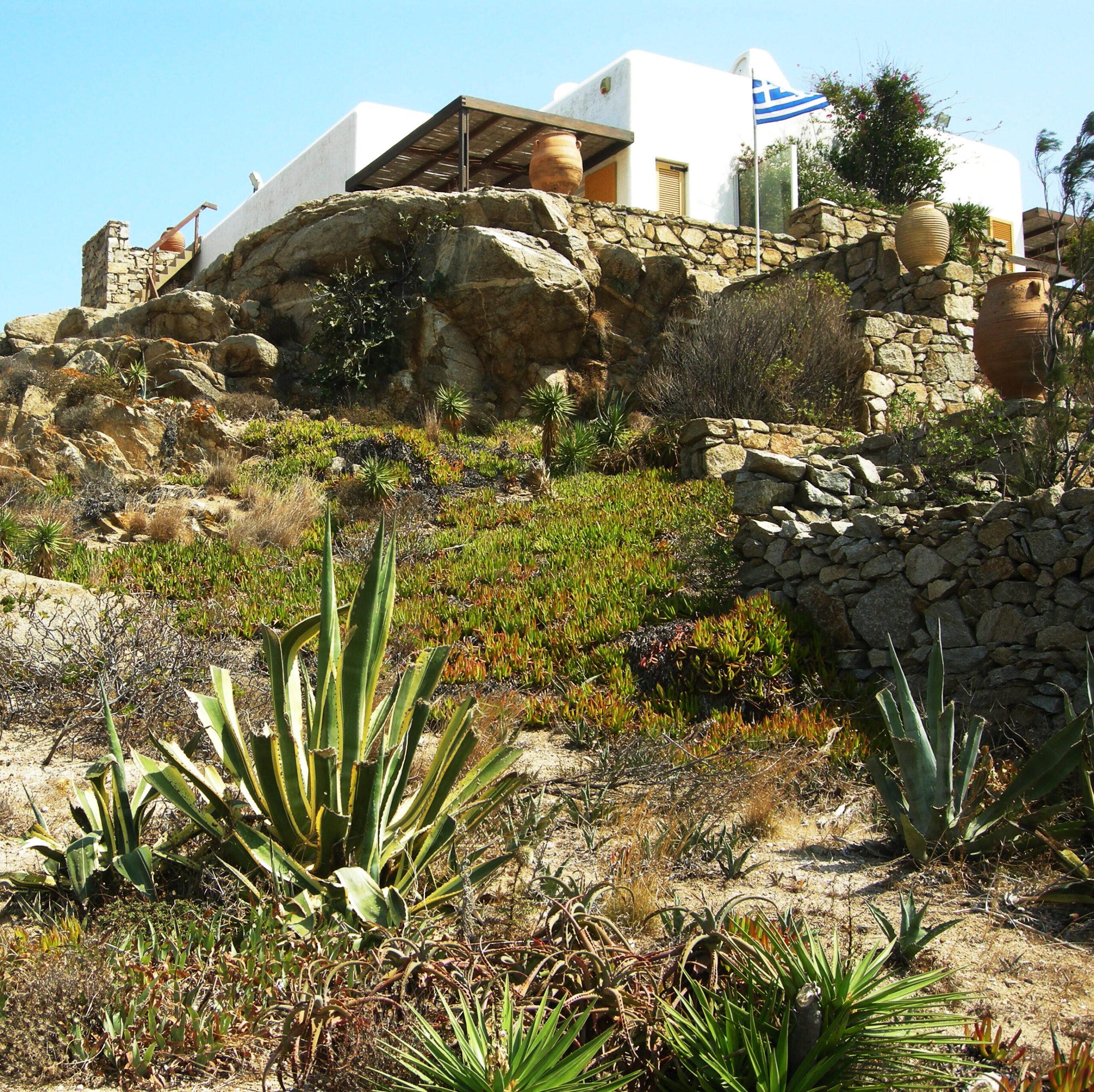 Garden in Mykonos